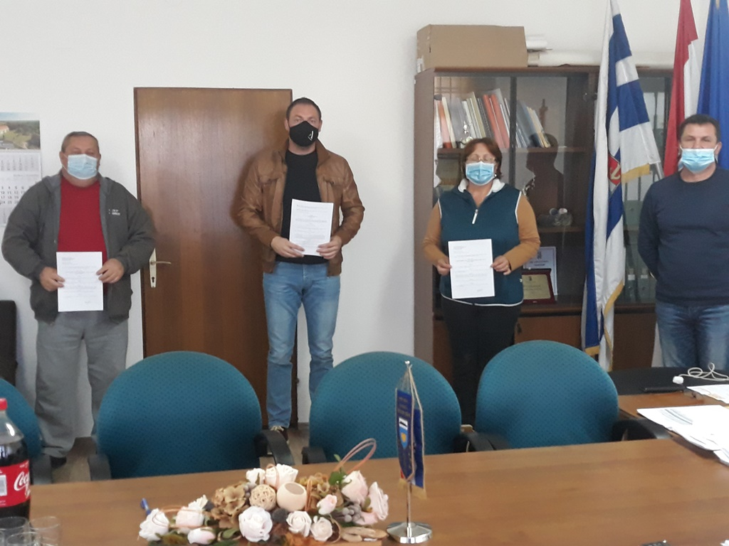 Obavijest o potpisivanju Ugovora s udrugama na području Općine Donja Motičina